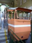 The funicular car