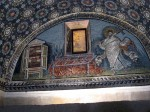 One of the arch mosaics