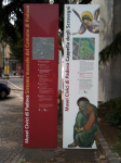 The sign for Musei Civici di Padova