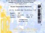 Ticket for Museo Nazionale di Ravenna