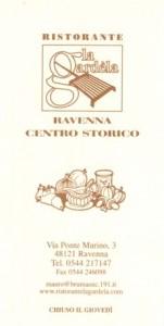 Card for Ristorante la Gardela