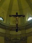 The hanging crucifix
