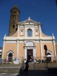 The facade of S. Giovanni Battista