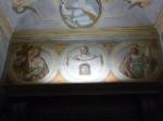 A frescoed detail