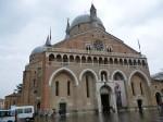 The facade of Santa Giustina