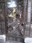 A gate outside the tomb