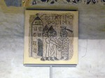 Reproduction of a Medieval mosaic