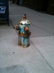 A fire hydrant in Ann Arbor, MI