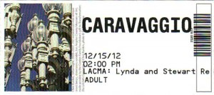 Ticket for the show