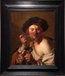 "A Dutch painting, ""The Smoker"""