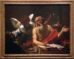 A painting I loved by Vouet