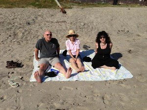 Brian, Lil and Aviva