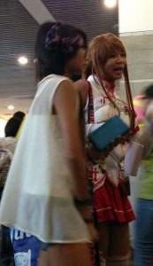 Cosplay at Anime Expo