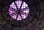 Inside the dome at the entry