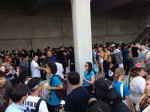 Part of the line we waited in for badges at Anime Expo