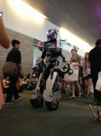 Robot costume at Anime Expo