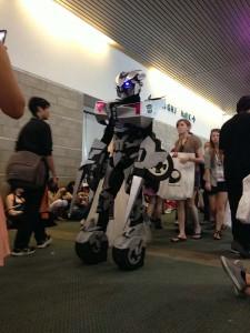Robot costume at Anime Expo