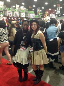 Steampunk was represented well at Anime Expo