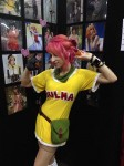 Vivka, a friend of Nathan's, at Anime Expo
