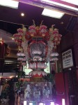 A huge cool lantern in a shop in Chinatown