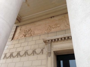Part of the decoration of the Legion of Honor