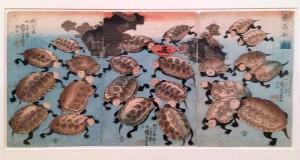 Kabuki actors as turtles