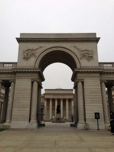 Entrance to the Legion of Honor