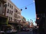 A street view of Chinatown