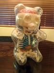 Three-quarters view of the Gummi Bear Anatomy toy