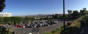 Panorama from Sunset Plaza - that's LA