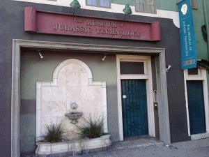 The facade of the Museum of Jurassic Technology
