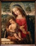 "Pinturicchio, ""Madonna and Child,"" late 15th century"