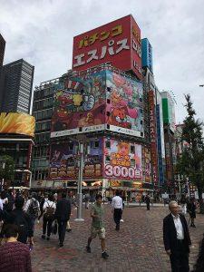 Cool building in Shinjuku
