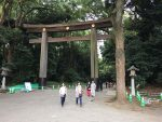 Meiji Shrine entrace torii