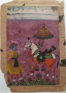 Miniature Indian painting