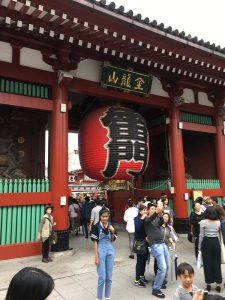 Portal for the Senso-ji Temple
