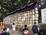 Sake barrels - the monks made sake