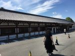 Sanjusangen-do entrance (Temple of a 1000 Buddhas)