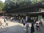 The charm shop at the Meiji Shrine