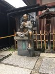 Statue of young buddhist