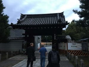Temple gate with Peter