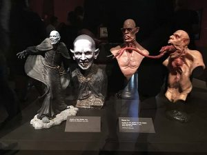 Statues from The Strain