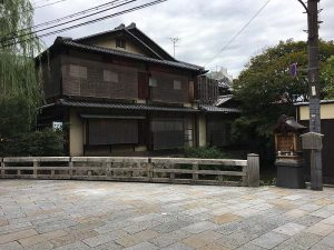 Traditional building on Higashiyama-ku