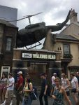 The entrance to the Walking Dead ride