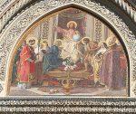 A detail from the Duomo facade